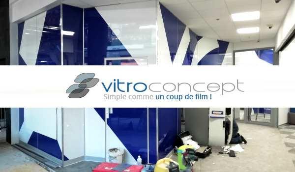 Vitropconcept: Spécialiste vitrophanie à Paris